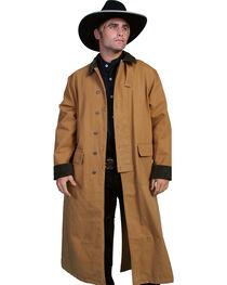 Scully Men's Authentic Canvas Duster, , hi-res