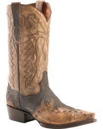 Dan Post Men's Avitar Overlay Snip Toe Western Boots, , hi-res