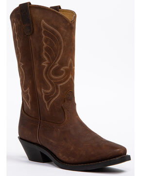 "Shyanne® Women's 11"" Square Toe Western Boots, Brown, hi-res"