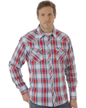 Wrangler Men's Multi Retro® Long Sleeve Shirt, Multi, hi-res