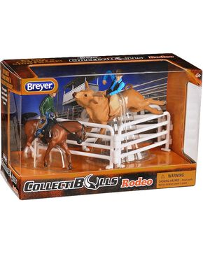 Breyer Kid's CollectiBULLS Rodeo Play Set, Brown, hi-res