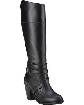 Ariat High Society Women's Boots, Black, hi-res