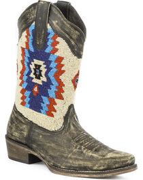 Roper Women's Azteca Beaded Shaft Western Boots, , hi-res