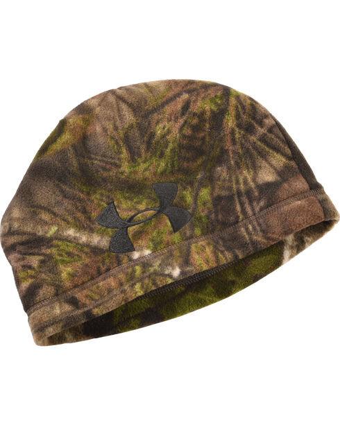 Under Armour Camo Outdoor Fleece Beanie, , hi-res