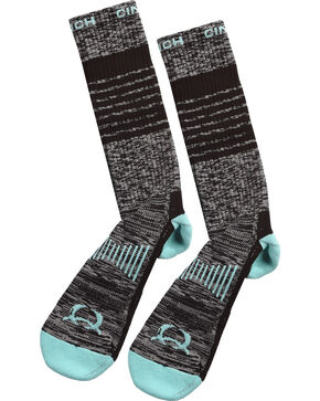 Cinch Men's Performance Boot Socks, Multi, hi-res