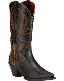 Ariat Women's Heritage Western X Toe Western Boots, , hi-res