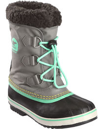 Sorel Youth Lace-Up Outdoor Boots, , hi-res