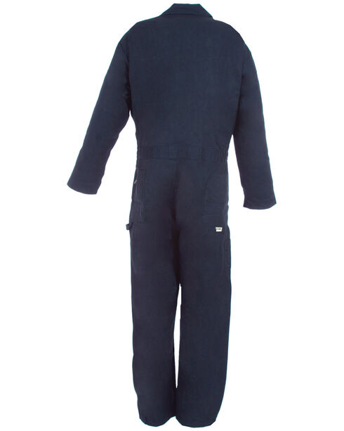 Berne Navy Deluxe Unlined Coveralls - 3XT, Navy, hi-res
