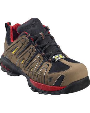 Nautilus Men's Composite Toe ESD Athletic Shoes, Olive, hi-res