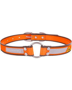 "Browning Orange Large Dog Collar - Large 18 - 28"", Orange, hi-res"