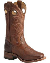 Boulet Women's Vintage Square Toe Western Boots, , hi-res