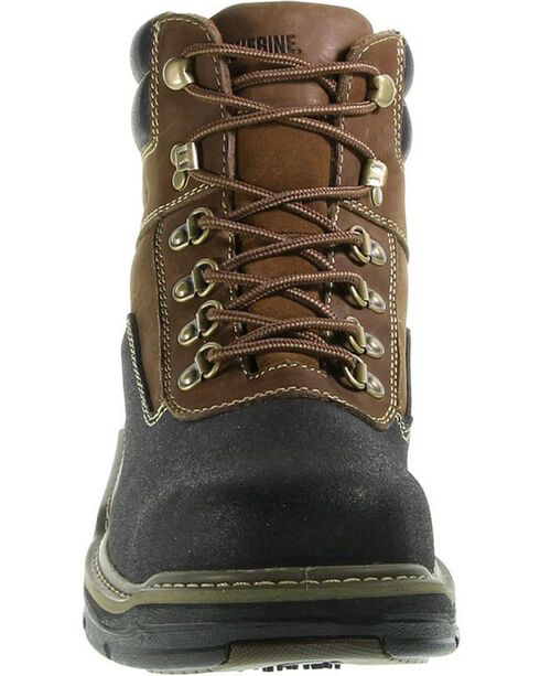 Wolverine Men's Corsair Waterproof Composite Toe Work Boots, Brown, hi-res