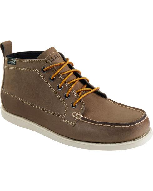 Eastland Men's Tan Seneca Camp Moc Chukka Boots, Tan, hi-res