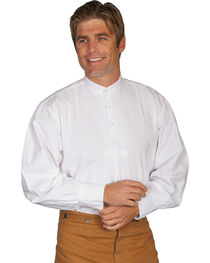 Wahmaker by Scully Pleated Front Puffed Sleeve Shirt, , hi-res