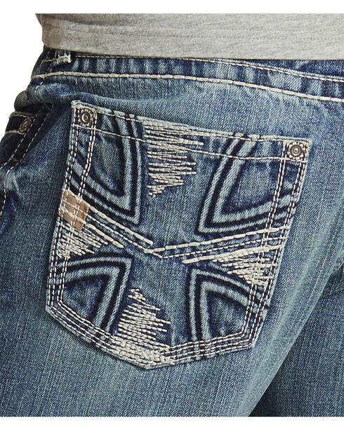 Ariat Men's M5 Low Rise Straight Leg Jeans, Denim, hi-res