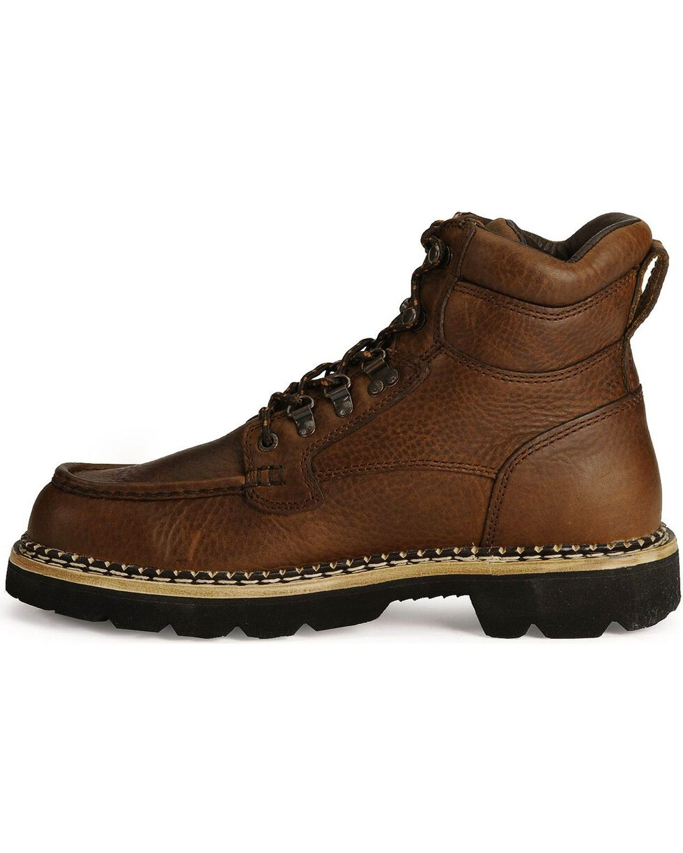 Rocky Men's Western Cruiser Chukkas, Dark Brown, hi-res
