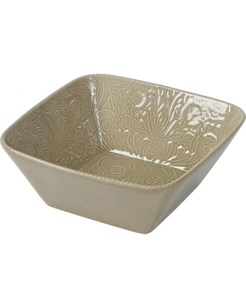 HiEnd Accents Savannah Serving Bowl, Taupe, hi-res