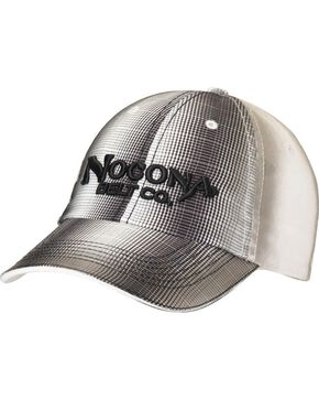 Nocona Plaid Front Cap, Black, hi-res