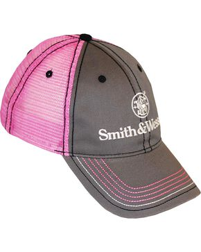 Smith & Wesson Women's Two Toned Ball Cap, Pink, hi-res
