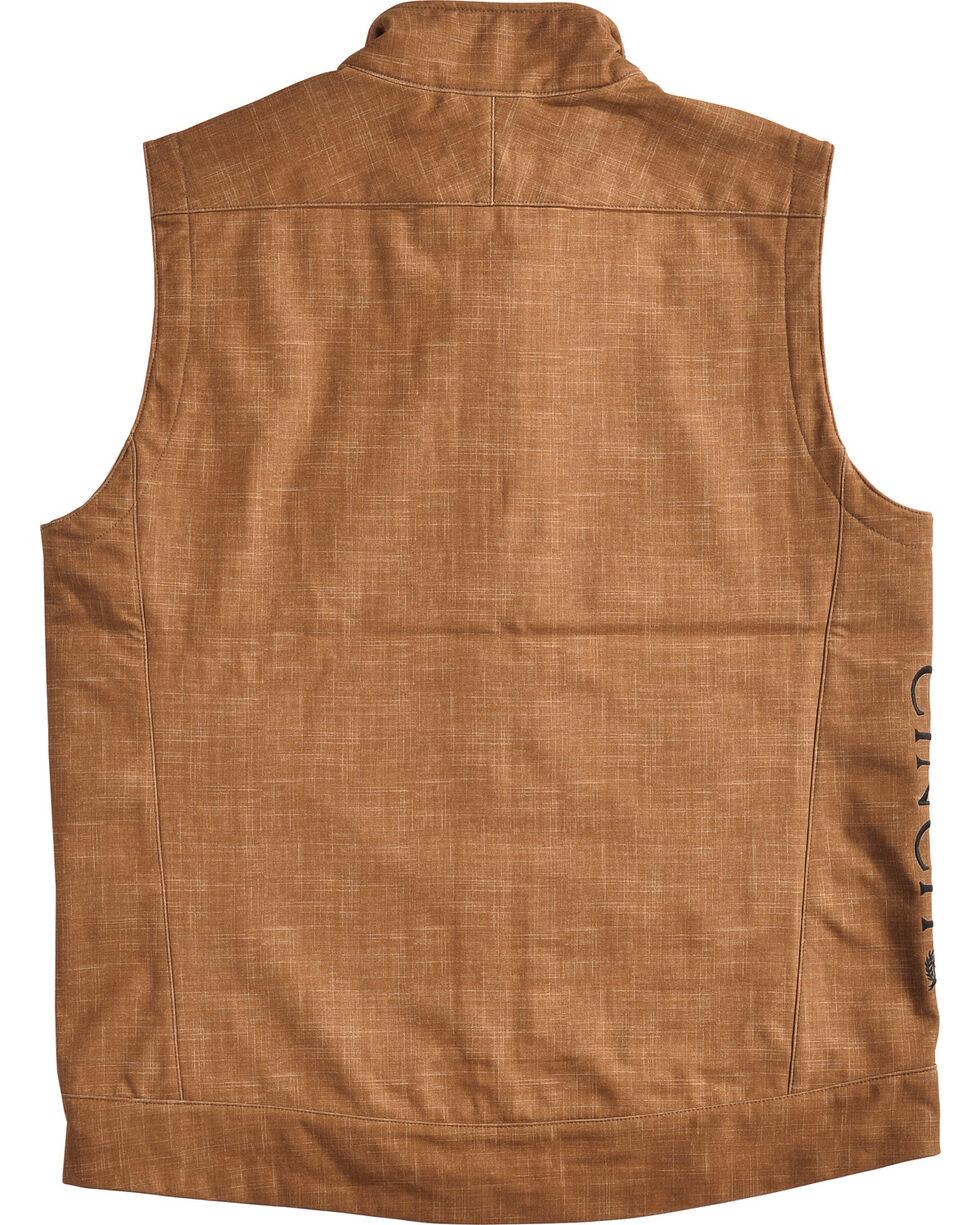 Cinch Men's Embroidered Logo Bonded Vest, , hi-res
