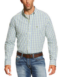 Ariat Men's Multi Brett Long Sleeve Shirt - Big and Tall, , hi-res