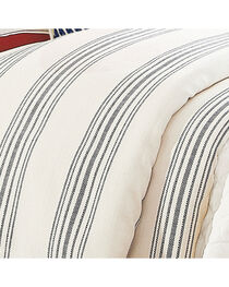 HiEnd Accents Prescott Navy Stripe Duvet - Super King, , hi-res