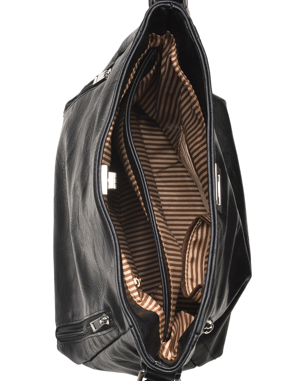 Wear N.E. Wear Women's Double Zipper Concealed Carry Handbag, , hi-res