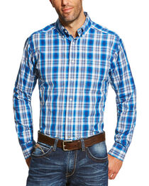 Ariat Men's Plaid Long Sleeve Shirt, , hi-res