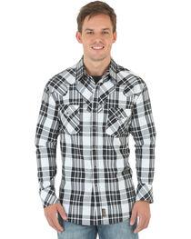 Wrangler Retro Men's Long Sleeve Spread Collar Shirt, , hi-res