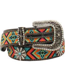 Blazin Roxx Women's  Aztec Concho Belt, , hi-res