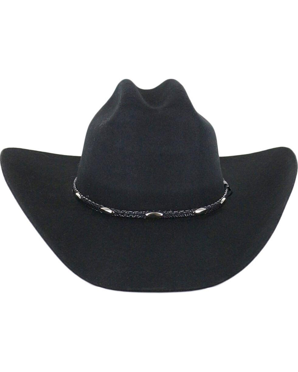 Cody James® Men's Casino Black Wool Hat, Black, hi-res