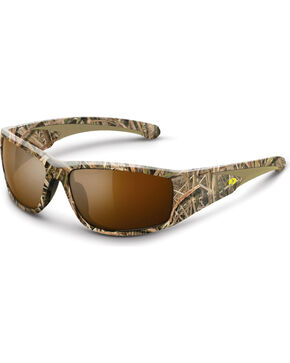 Mossy Oak Men's Shadow Grass Blades® Camouflage Razorback Sunglasses, Camouflage, hi-res