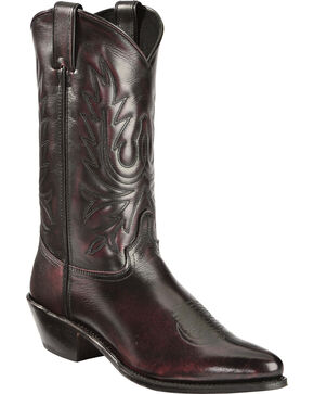 "Abilene Men's 12"" Western Boots, Black Cherry, hi-res"