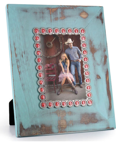 BB Ranch® Weathered Turquoise Picture Frame, No Color, hi-res