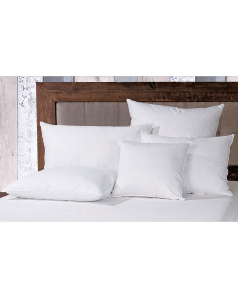 HiEnd Accents White Down Euro Pillow Inserts, White, hi-res