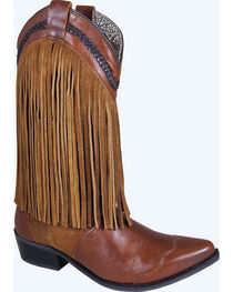 Smoky Mountain Rosie Fringe Cowgirl Boots - Snip Toe, , hi-res