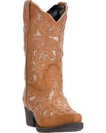 Laredo Girl's Sharona Western Boots, , hi-res