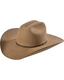 Justin Bent Rail 7X Hooch Pecan Fur Felt Cowboy Hat, Pecan, hi-res