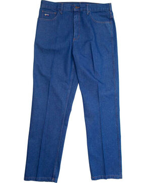 Lapco Men's Flame Resistant Relaxed Fit Jeans, Blue, hi-res
