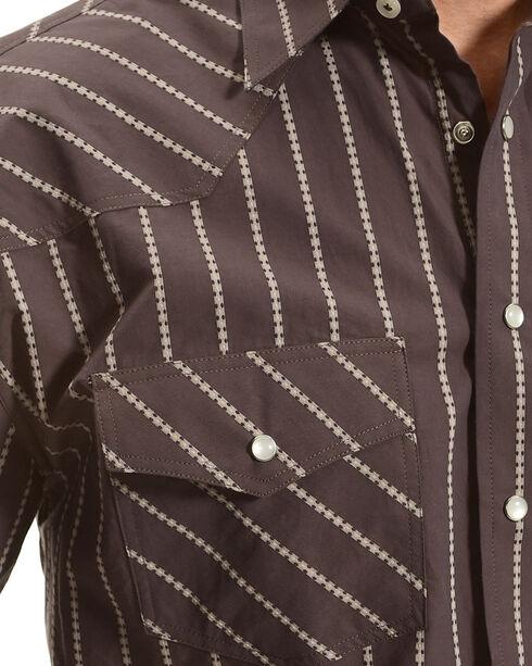 Resistol Men's Grey Milton Snap Shirt , Grey, hi-res