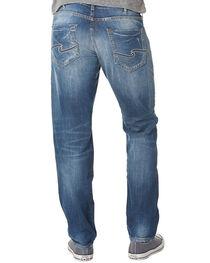 Silver Men's Nash Classic Fit Straight Jeans, , hi-res