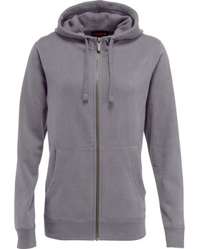 Wolverine Women's Ashland Full Zip Hoodie , Dark Grey, hi-res