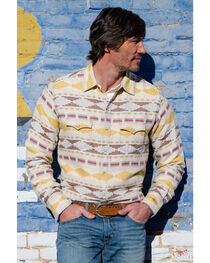 Ryan Michael Men's Brushed Blanket Western Shirt, , hi-res