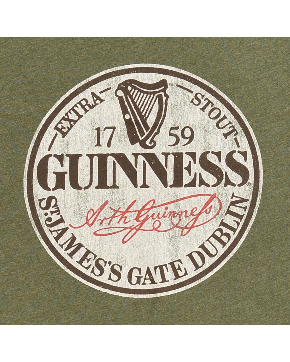 Original Retro Brand Men's Guinness Circle Tee, Green, hi-res