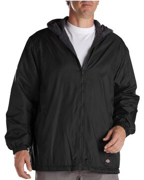 Dickies Fleece Lined Hooded Jacket - Big & Tall, Black, hi-res