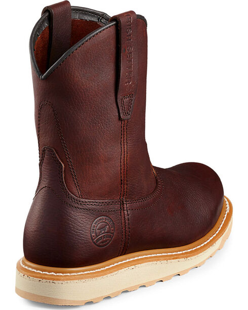 Red Wing Irish Setter Ashby Work Boots - Aluminum Toe , Brown, hi-res
