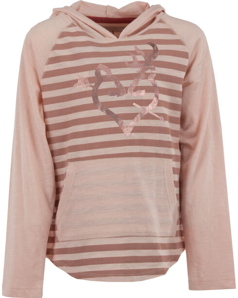 Browning Girls' Pink Papaver Hooded Tee , Pink, hi-res