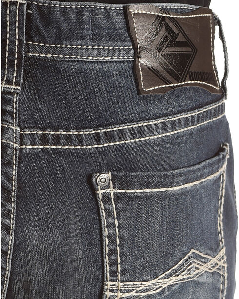 Rock & Roll Cowboy Men's Revolver Jeans - Boot Cut, Blue, hi-res