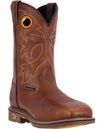 Dan Post Men's Tan Bismark Cowboy Boots - Square Toe , , hi-res