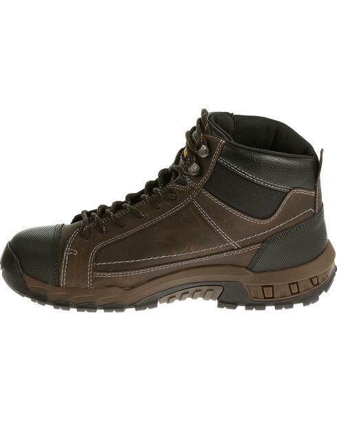 """CAT Men's Regulator 6"""" Steel Toe Work Boots, Brown, hi-res"""